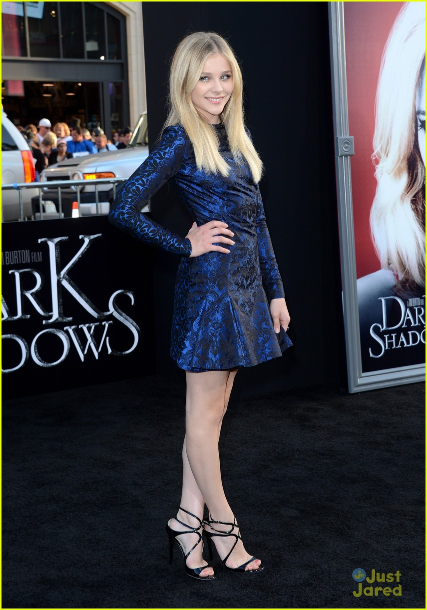 chloe moretz dark shadows premiere 06