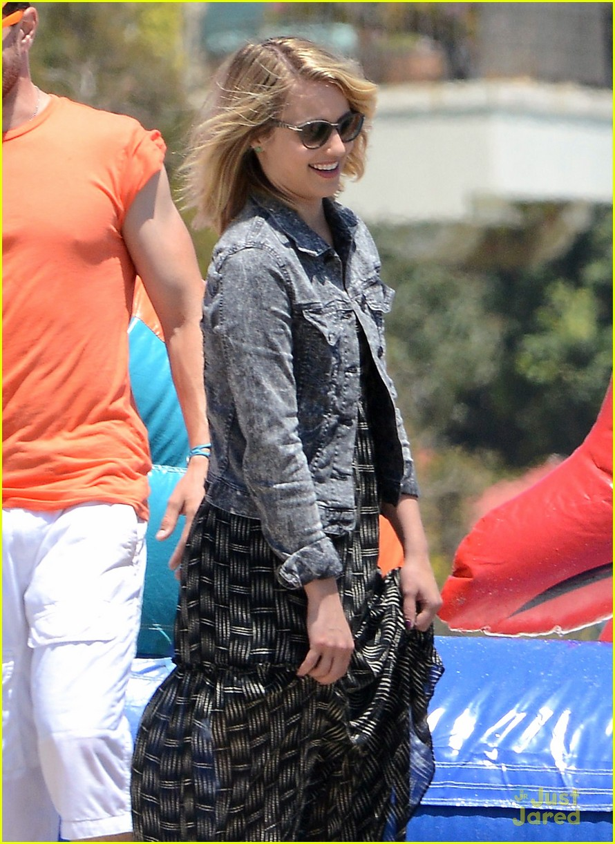 dianna agron memorial day 05