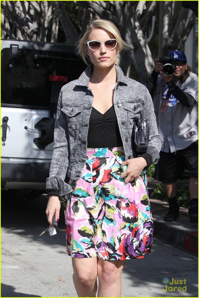dianna agron salon stop 10