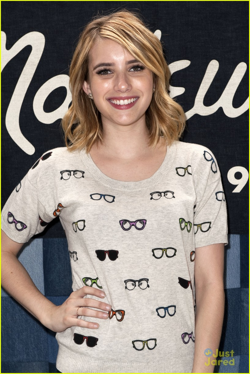 emma roberts road trip madewell 15
