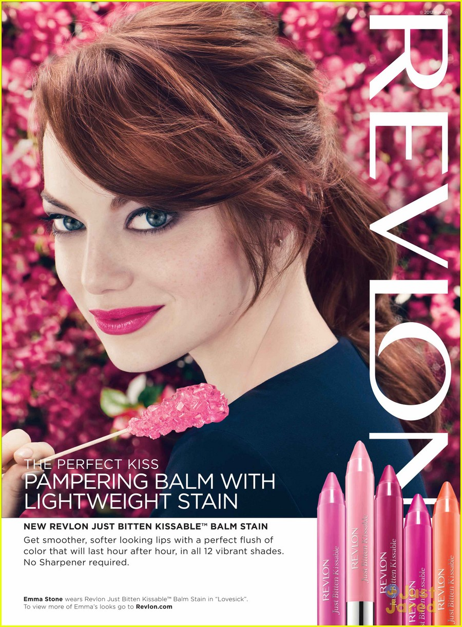 emma stone new revlon ads 01