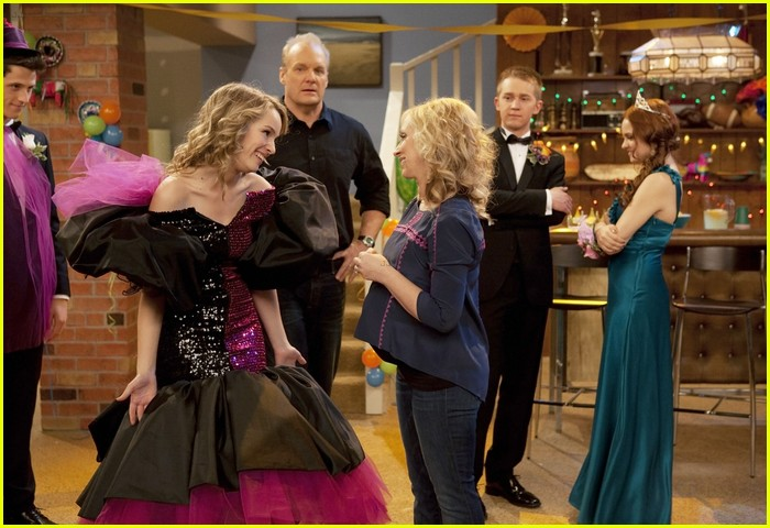good luck charlie dress shower 02