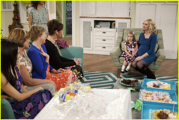 good luck charlie dress shower 13