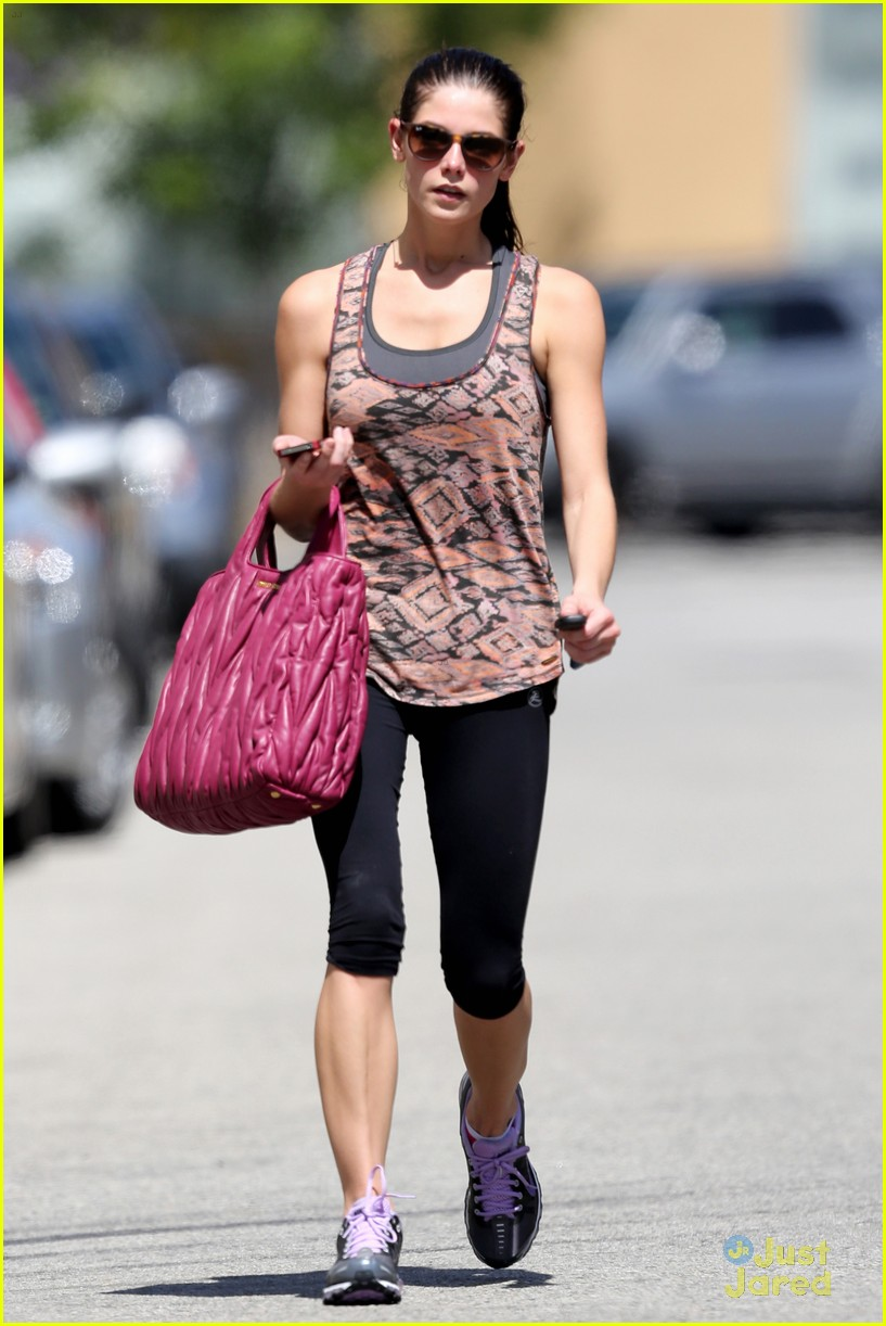 ashley greene wednesday workout 05