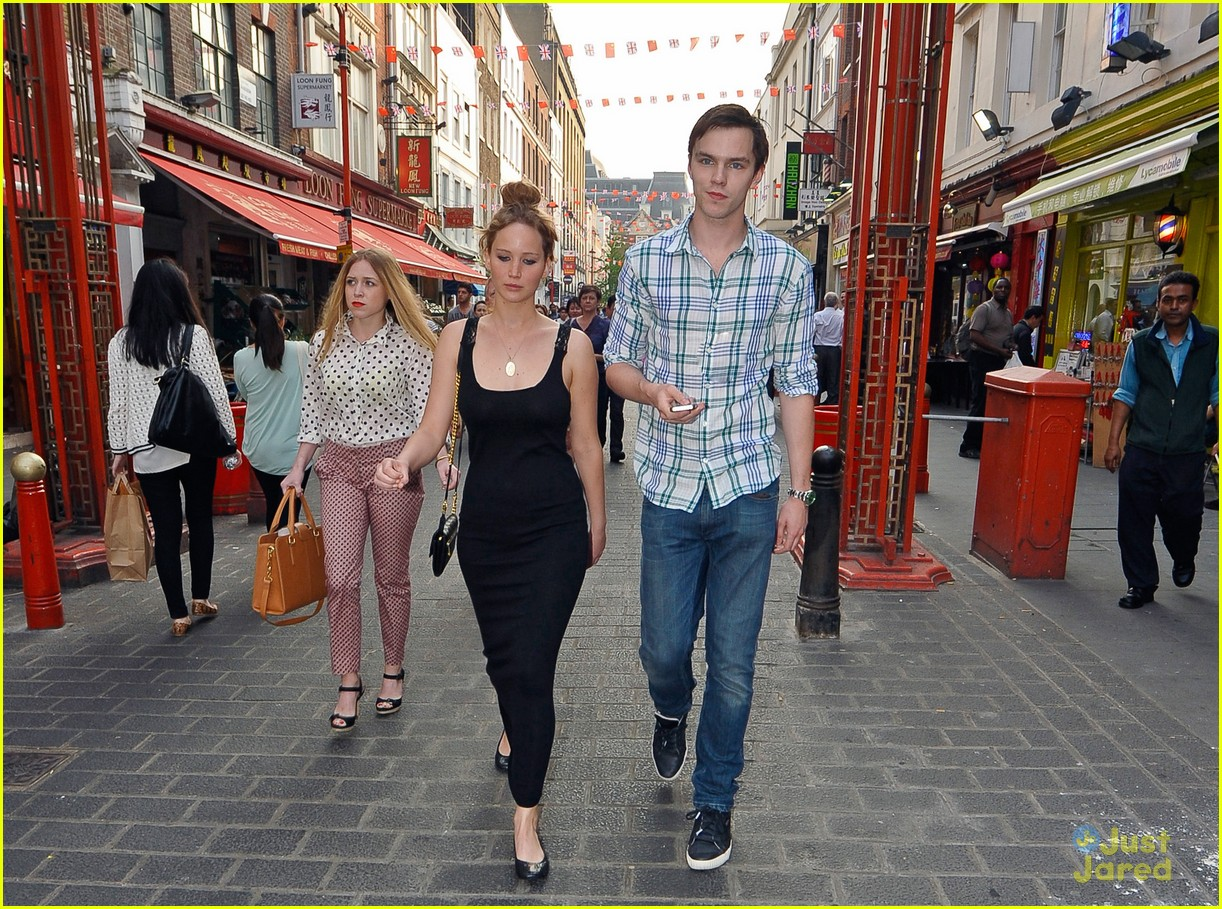 jennifer lawrence nicholas hoult london 06