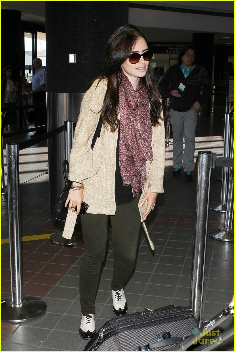 lily collins memorial day getaway 15