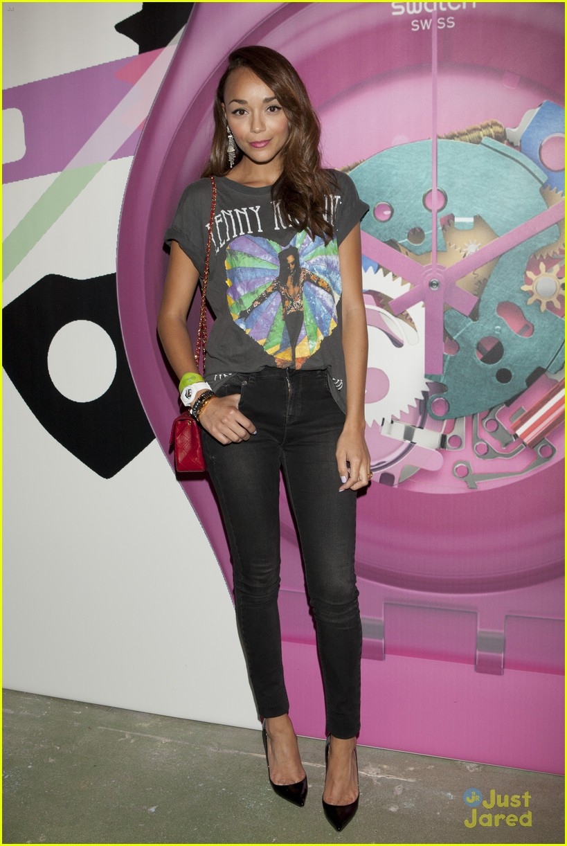 ashley madekwe swatch launch 02