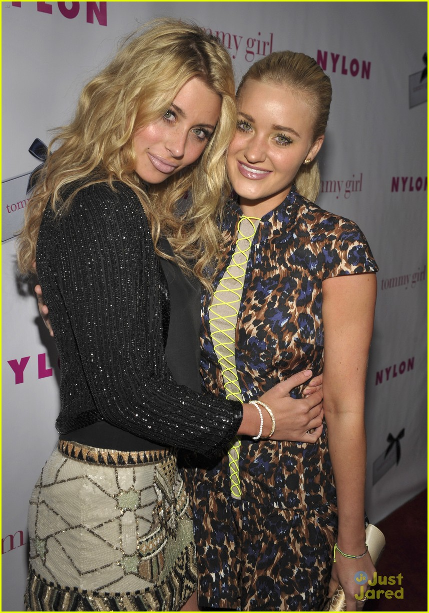 aly aj michalka nylon party 01
