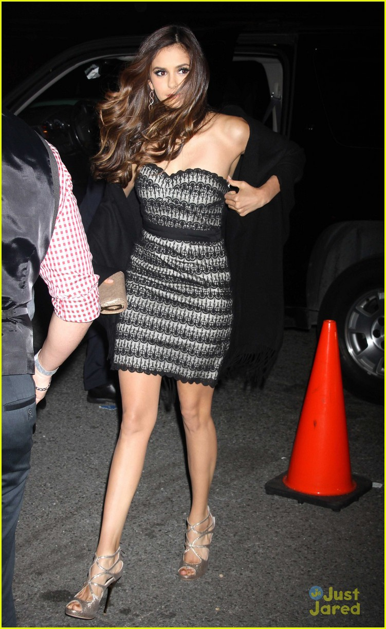 nina dobrev cw after party 01