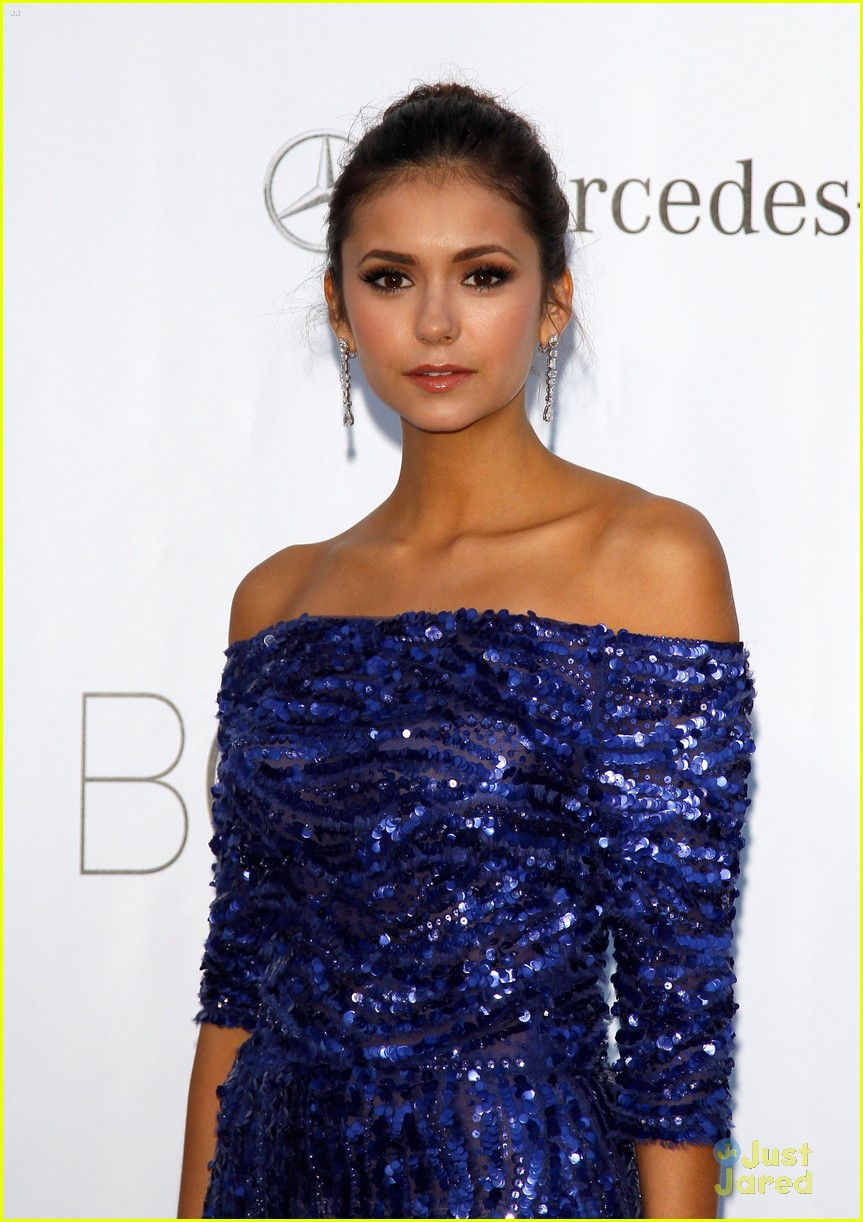 nina dobrev amfar gala cannes 05