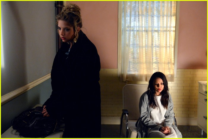 ashley benson janel parrish hospital visit 06