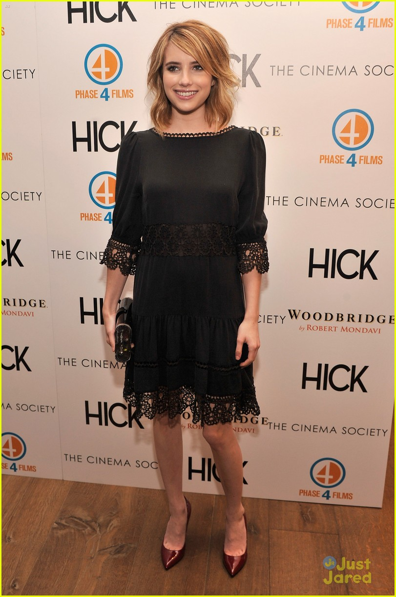 emma roberts hick screening 04