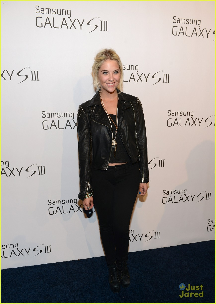 ashley benson samsung launch 07