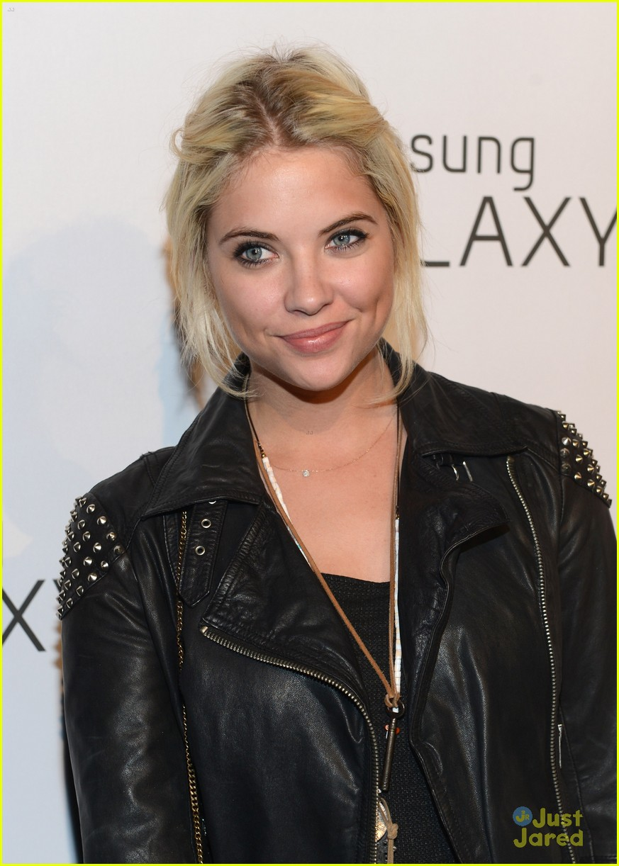 ashley benson samsung launch 10