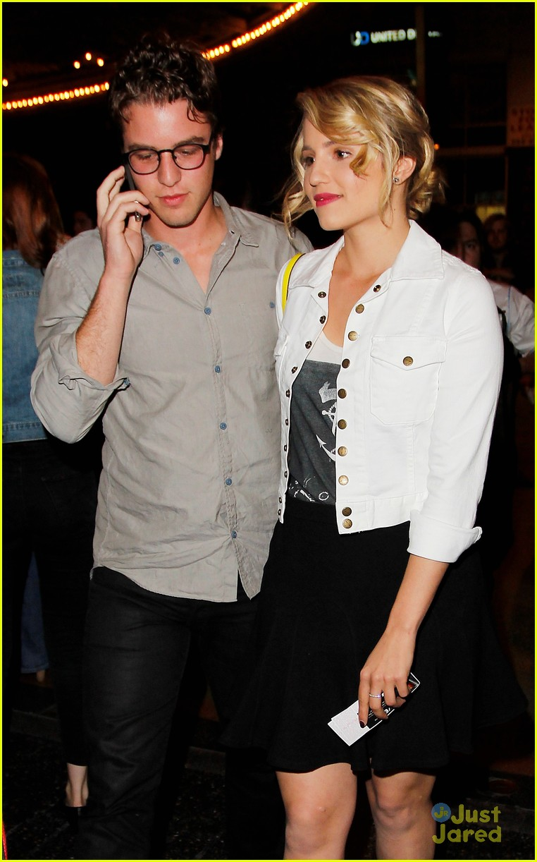 dianna agron jack white concert 07