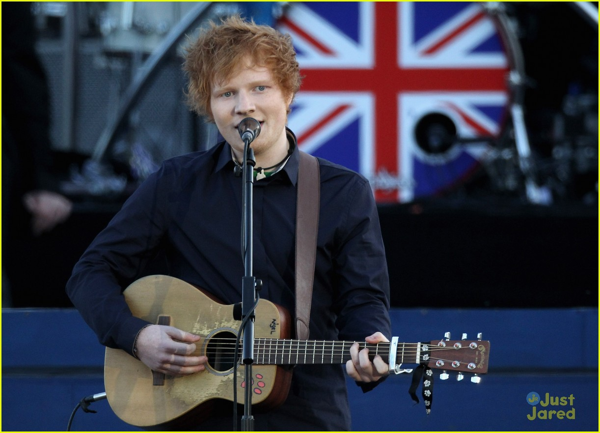 ed sheeran diamond jubilee concert 06