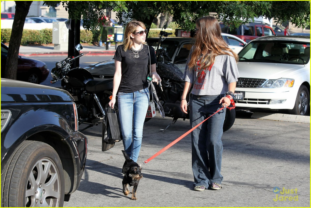emma roberts los feliz milk 05