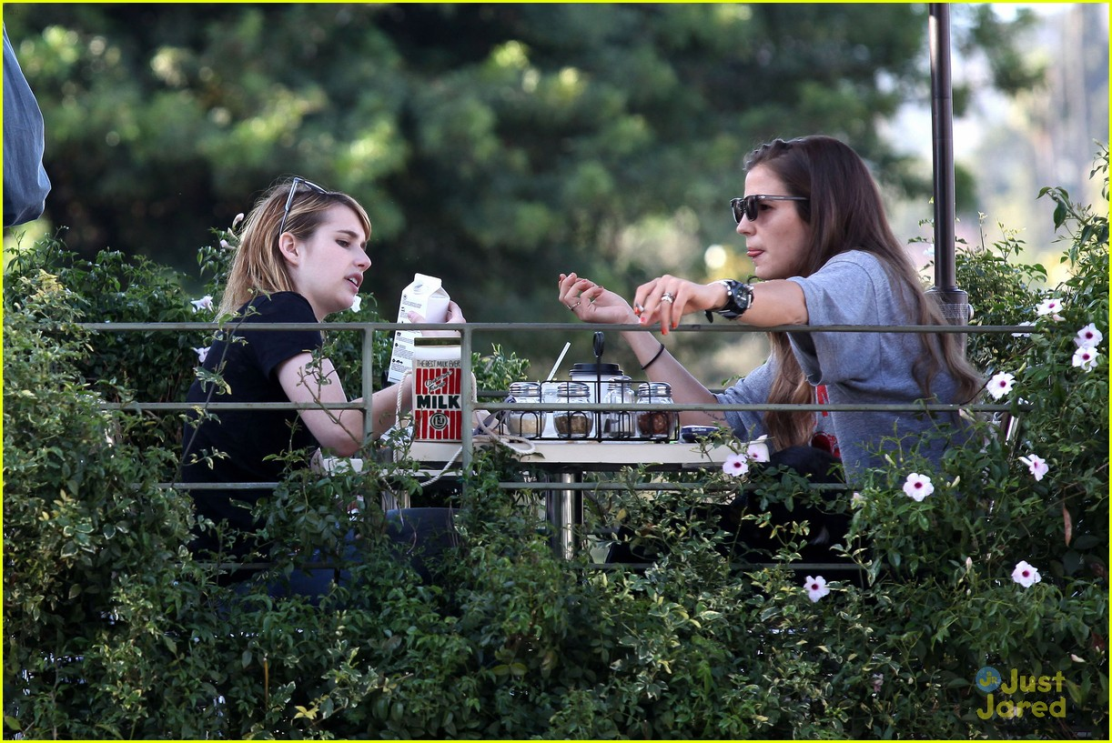 emma roberts los feliz milk 14