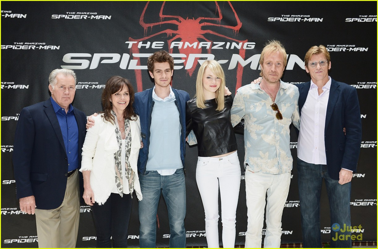 emma stone spiderman photocall 02