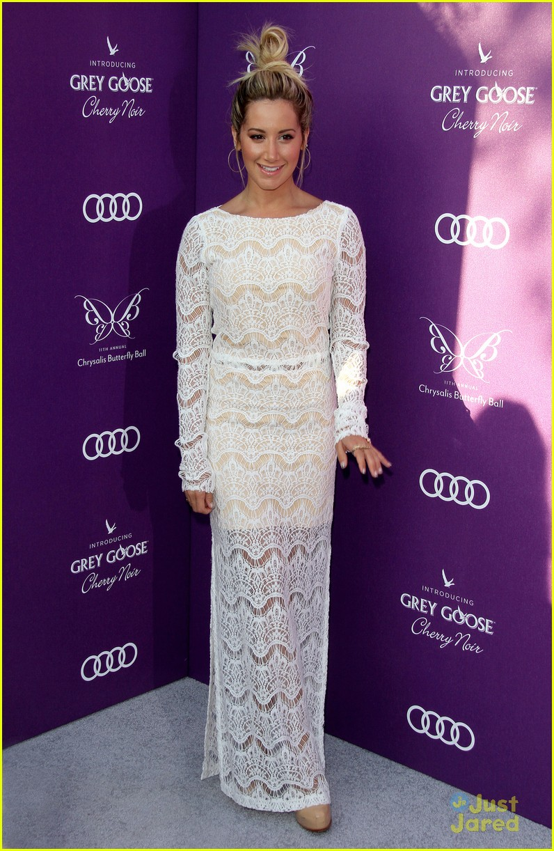 ashley tisdale butterfly ball 09