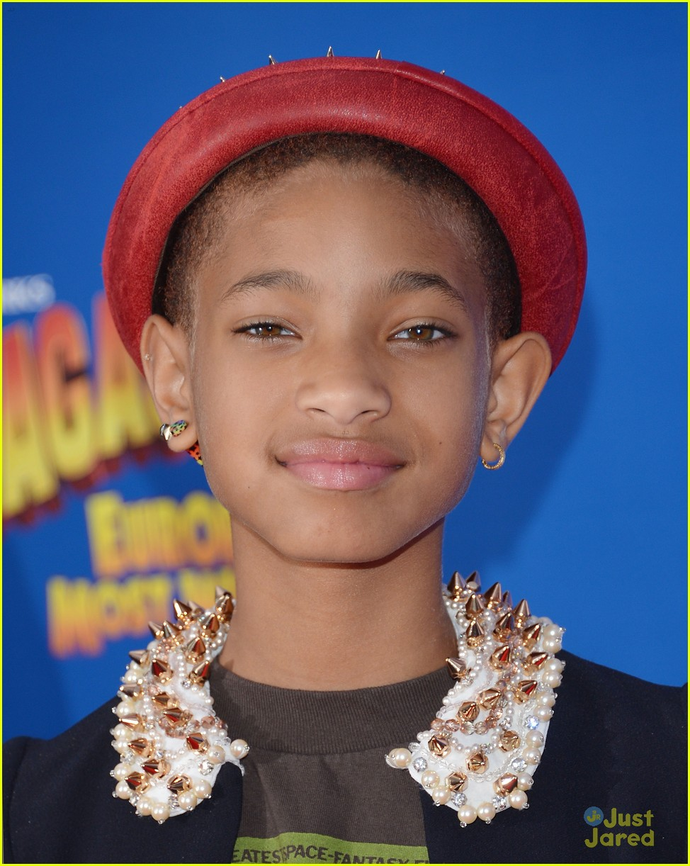 willow smith madagascar 3 premiere 14