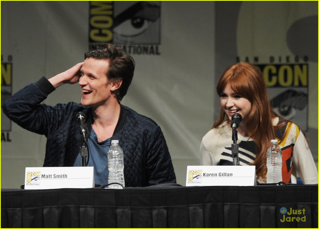 karen gillan doctor who sdcc 14