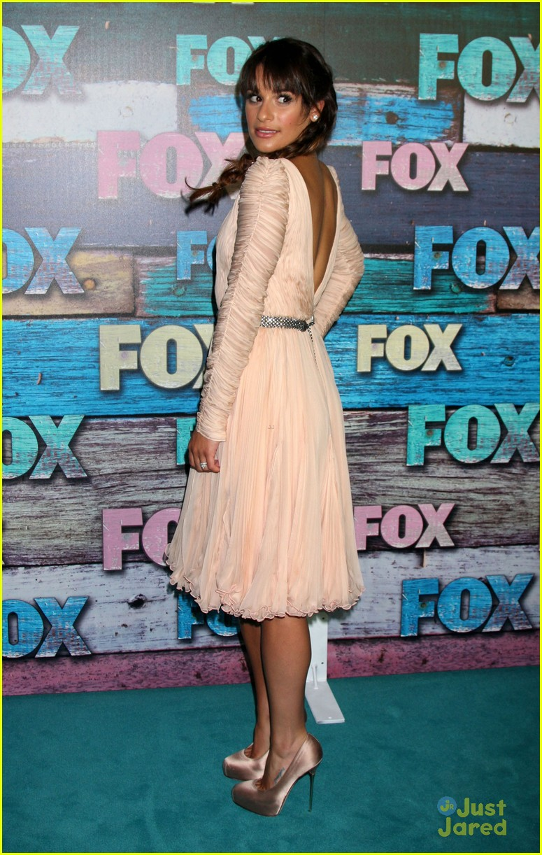 lea michele fox allstar party 22
