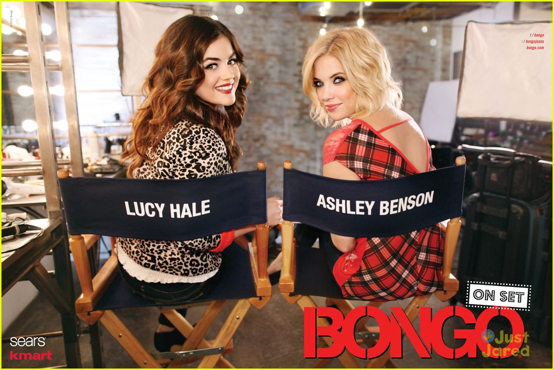 lucy hale ashley benson bongo fall 13