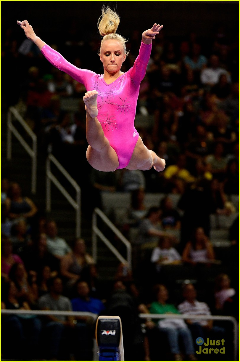 nastia liukin no london olympics 15