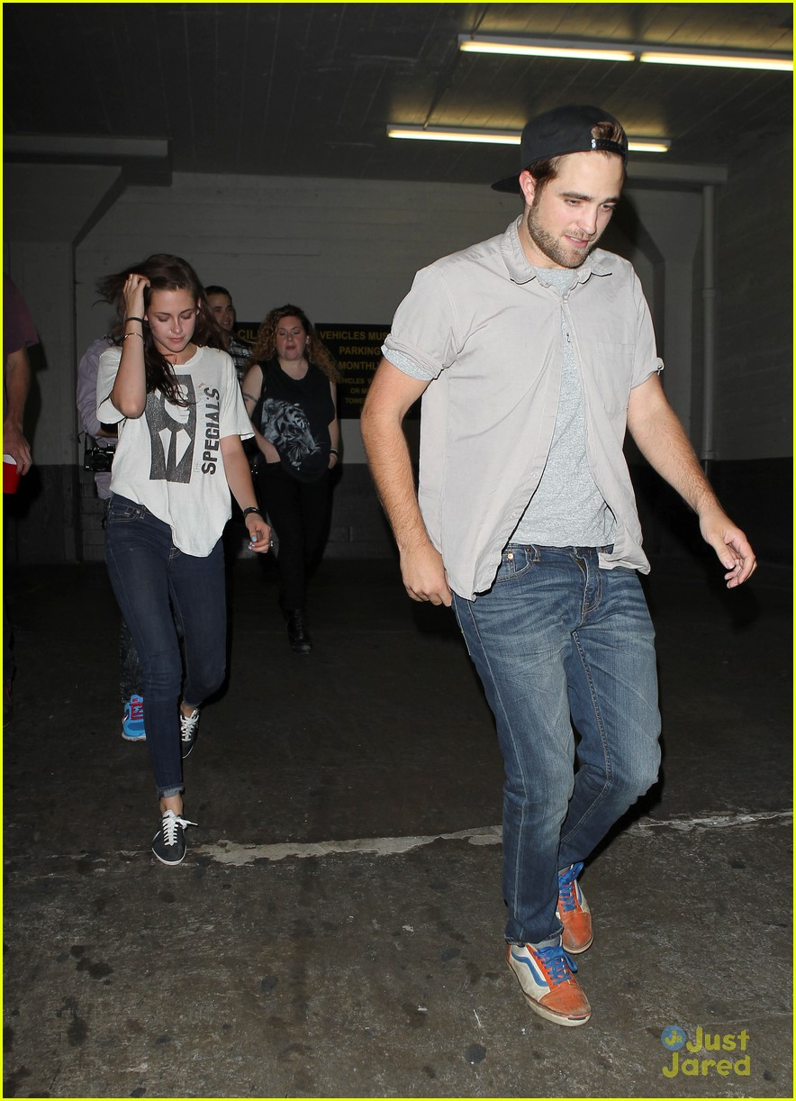 robert pattinson kristen stewart date night 12
