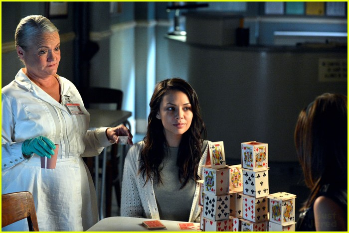 janel parrish lucy hale pll crazy 04