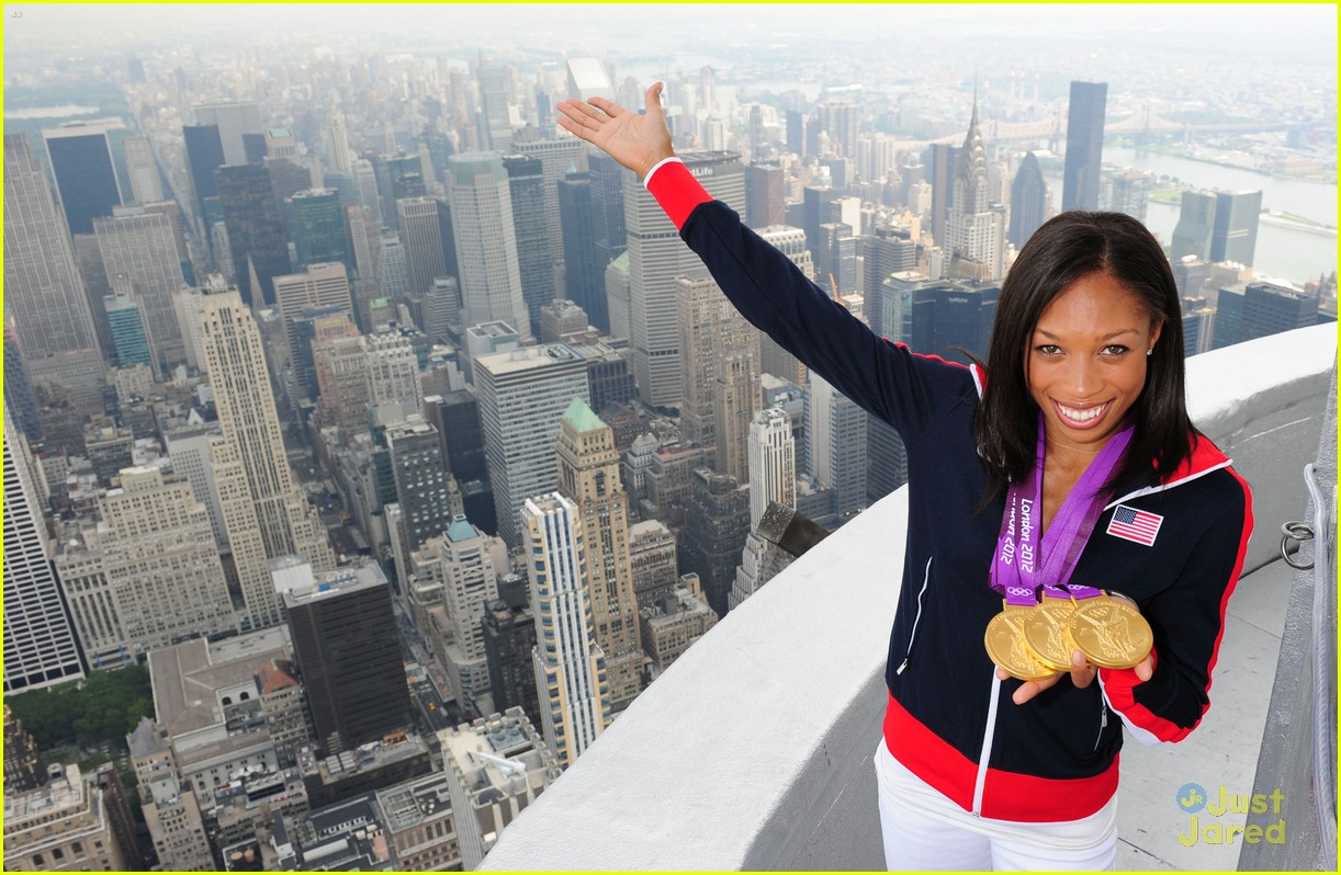 allyson felix empire state 03