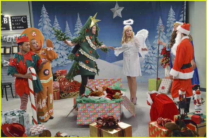 baby daddy christmas photo 05