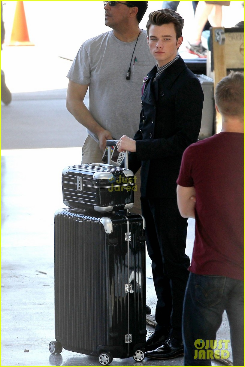 colfer glee airport 01
