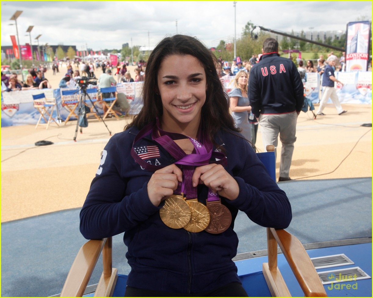 gymnasts olympic village today show 13