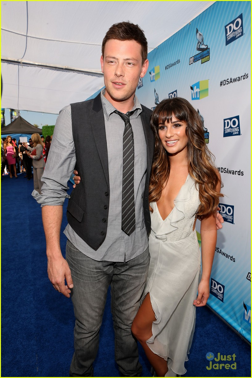lea michele cory monteith ds awards 01