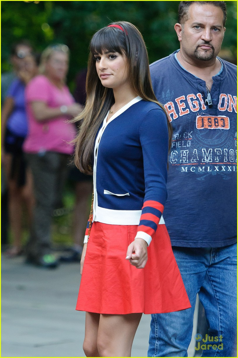 lea michele cory montieth glee nyc 16