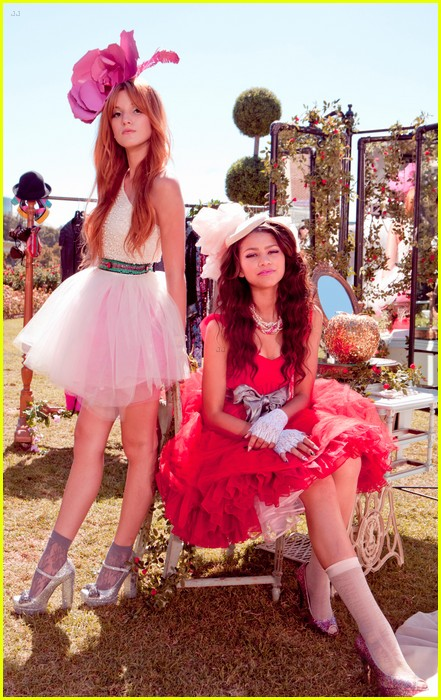 bella thorne zendaya fashion video pics 01