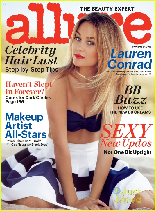lauren conrad allure november 02