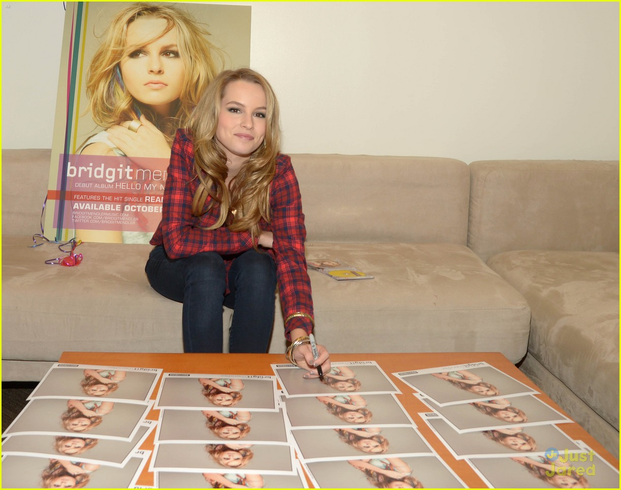 bridgit mendler album stream 03