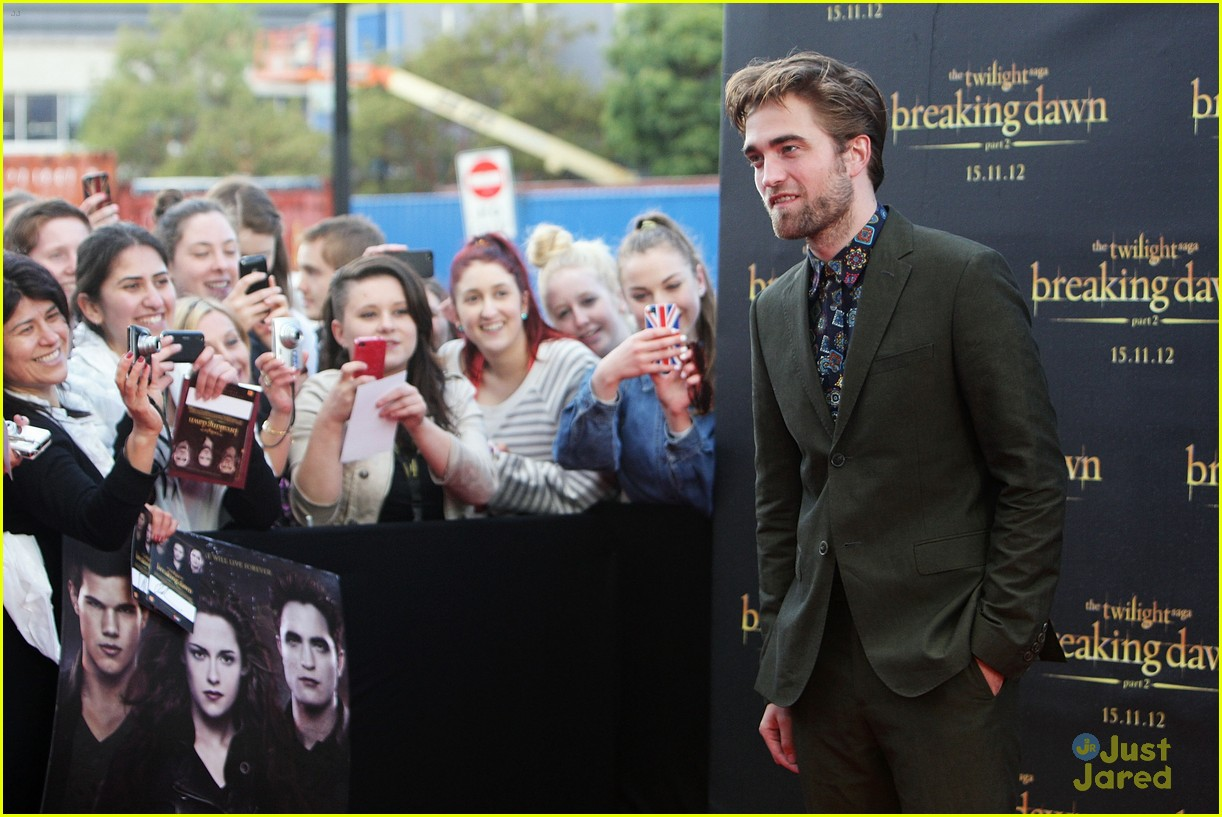 robert pattinson bd premiere sydney 05