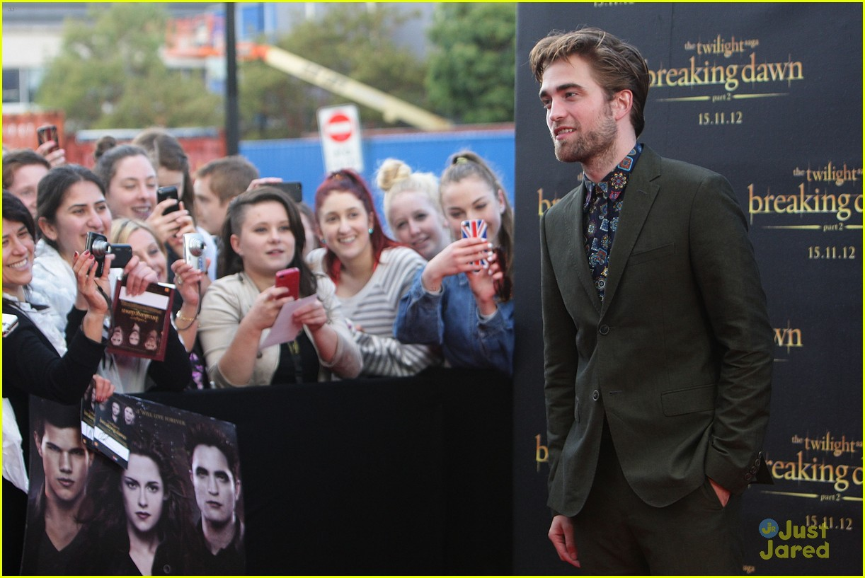 robert pattinson bd premiere sydney 12