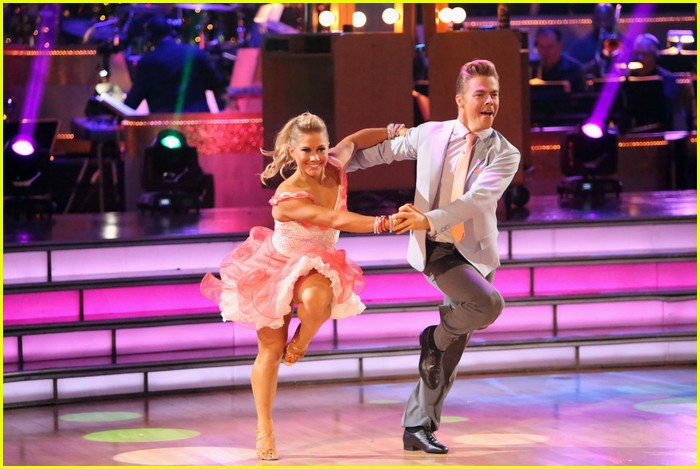 shawn johnson derek hough jive 10