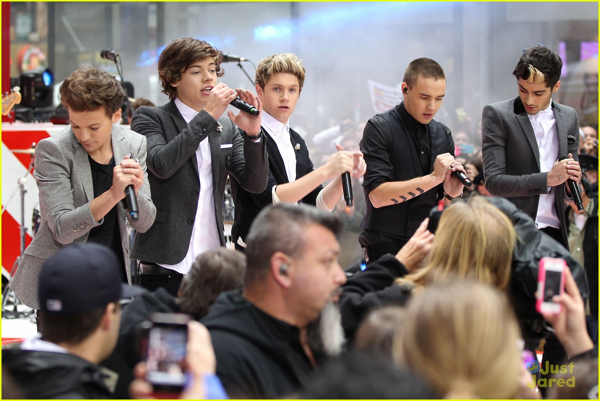 one direction today show 24