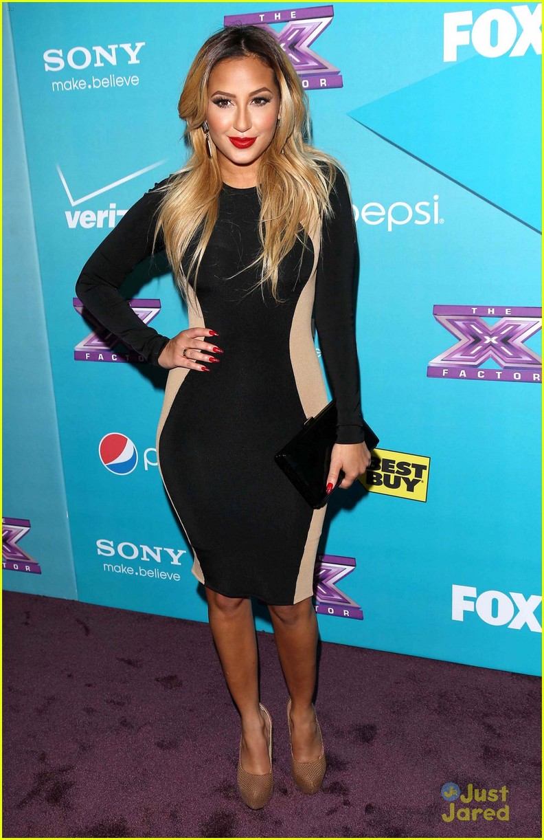 adrienne bailon xfactor finalist party 05