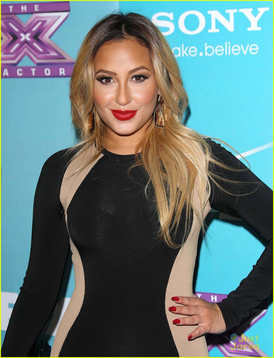 adrienne bailon xfactor finalist party 08