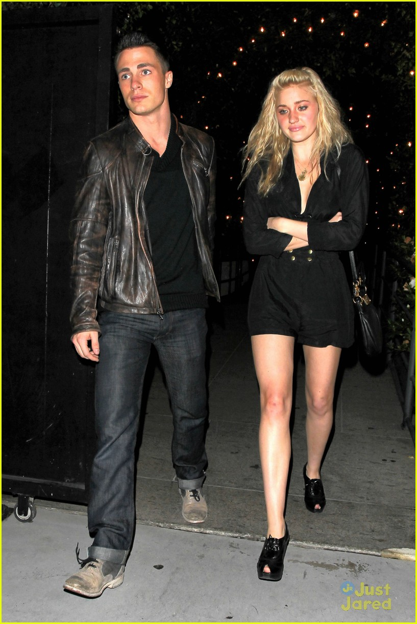 aj michalka colton haynes dinner 07