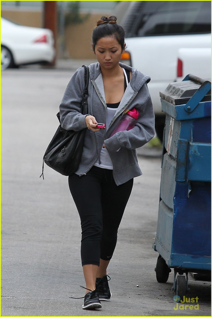 brenda song gym thursday 07