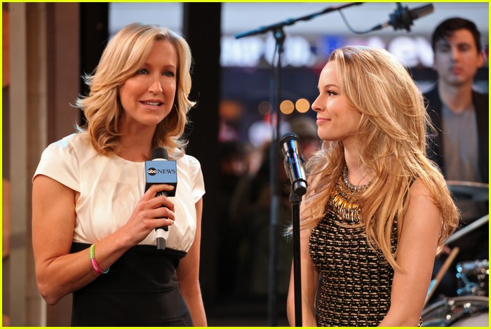 bridgit mendler gma guest 03