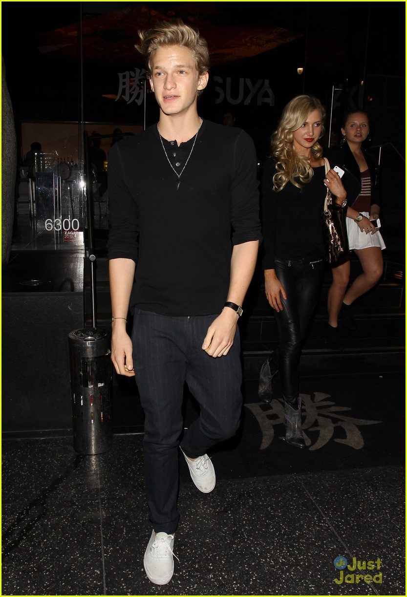 cody simpson katsuya dinner 01